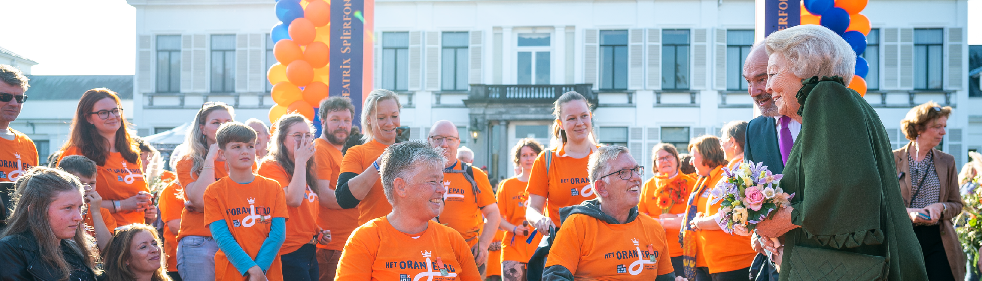 Het Oranjepad levert ruim € 172.585 op voor onderzoek naar spierziekten